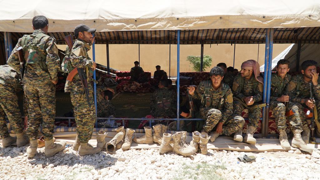 RAQQA : THE BATTLE OF THE EUPHRATES
